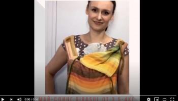 Видеообзор май-слинга Girasol для детей от 3,5 кг.