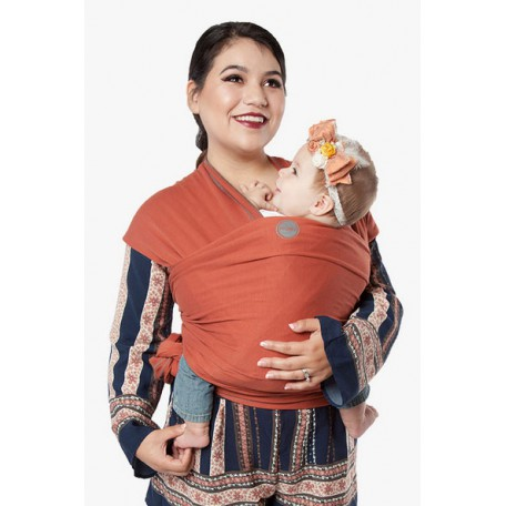 Слинг-шарф трикотажный Moby Wrap Classic Пряности для новорожденных