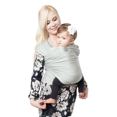 Слинг-шарф трикотажный Moby Wrap Органик Шалфей для новорожденных