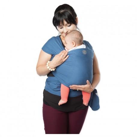 Слинг-шарф трикотажный Moby Wrap Classic Море для новорожденных