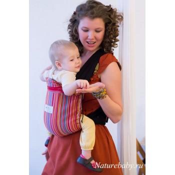 Май-слинг для новорожденных Storchenwiege на фастексах Lilly (Лилли)