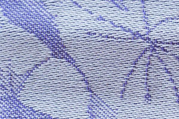 жаккардовое плетение нитей