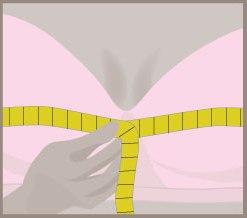 Измерение объема груди 2